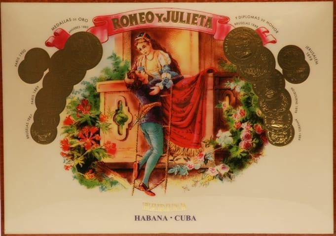 Хьюмидор Romeo y Julietta