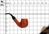 Курительая трубка Design Berlin Barberry 18 Bent