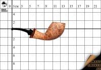 Курительная трубка Ardor Canasta natural