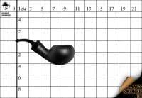 Курительная трубка Big Ben Barbados Black Scorpio №647