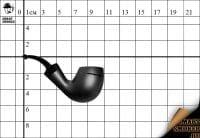 Курительная трубка Big Ben Barbados Black Scorpio №649