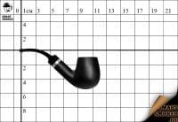 Курительная трубка Big Ben Silhouette №018