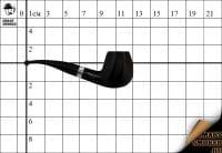 Курительная трубка Big Ben Sylvia Black №802