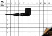 Курительная трубка Big Ben Sylvia Black №808