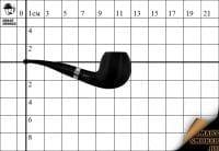 Курительная трубка Big Ben Sylvia Black №867