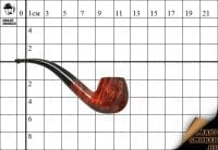 Курительная трубка Dunhill Amber ROOT 4113 Bent Classic