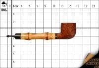Курительная трубка Dunhill AMBER ROOT Гр.№4 Pot бамбук