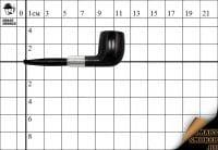 Курительная трубка Dunhill Black Briar гр.№2 2009г.