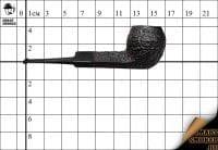 Курительная трубка Dunhill Shell Briar гр.№6