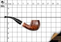 Курительная трубка Gasparini пенка Classic Bent Panel