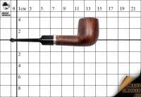 Курительная трубка Gasparini пенка Classic Billiard
