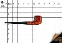 Курительная трубка Hilson Винтаж 40 лет бриар №420 Pot Panel с охладителем