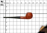 Курительная трубка Hilson Винтаж 40 лет бриар №430 Apple Pot с охладителем