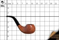 Курительная трубка L'anatra 2* Natural Bent