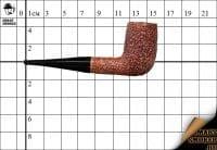 Курительная трубка L'anatra Rust Bruyere Billiard