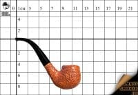 Курительная трубка L'anatra Rust Bruyere Pot Bent
