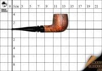 Курительная трубка Mario Pascucci PII Billiard Polish