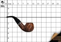 Курительная трубка Peterson Dublin XL02