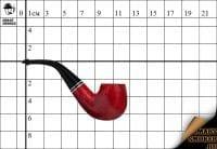 Курительная трубка Peterson Killarney Red 221