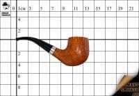 Курительная трубка Smart Smoker Franco Rossi гр.7 Bent
