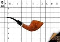 Курительная трубка Smart Smoker limited edition Freehand Natural Silver
