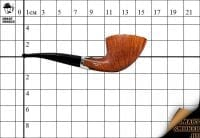 Курительная трубка Smart Smoker limited edition Freehand Silver Half-rust