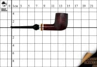 Курительная трубка Szabo Amiecate Silver Billiard