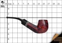 Курительная трубка Szabo Bruyere Panel Bent