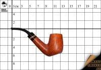 Курительная трубка Szabo Natural Bent Biiliard