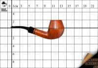 Курительная трубка Szabo Natural Brandy