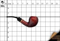 Курительная трубка Vauen Basic Brown Freehand