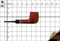 Курительная трубка Vauen Brown Meerschaum №7286 Lovat