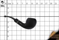 Курительная трубка Vauen Smoking Black Egg Bent