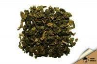 Зелёный ароматизированный чай Нежная мята Китай 50 г