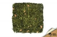 Зелёный ароматизированный чай Совершенство с кусочками ягод Япония 50 г